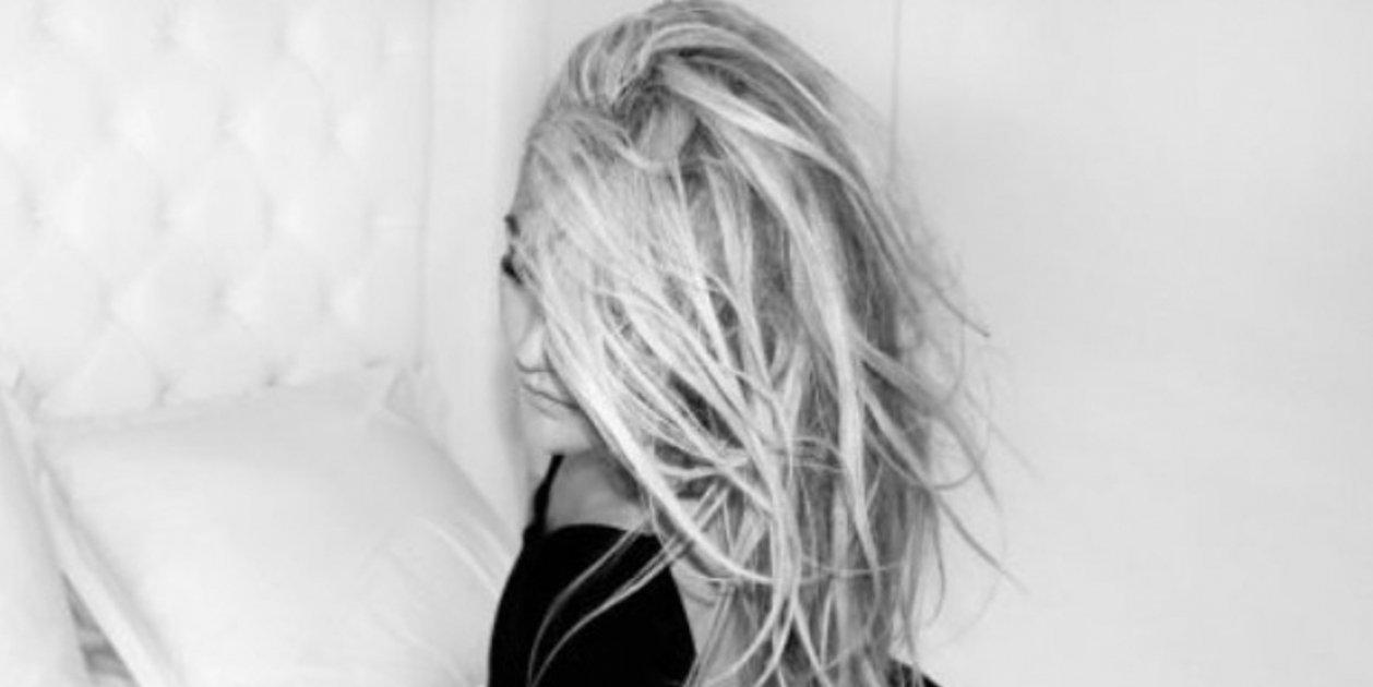 Amaia Montero amb cabells a la cara @amaiamonterooficial