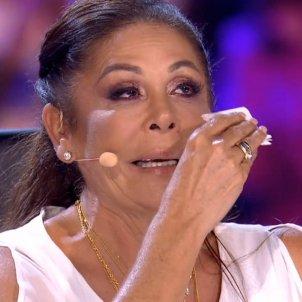 pantoja plorant Telecinco