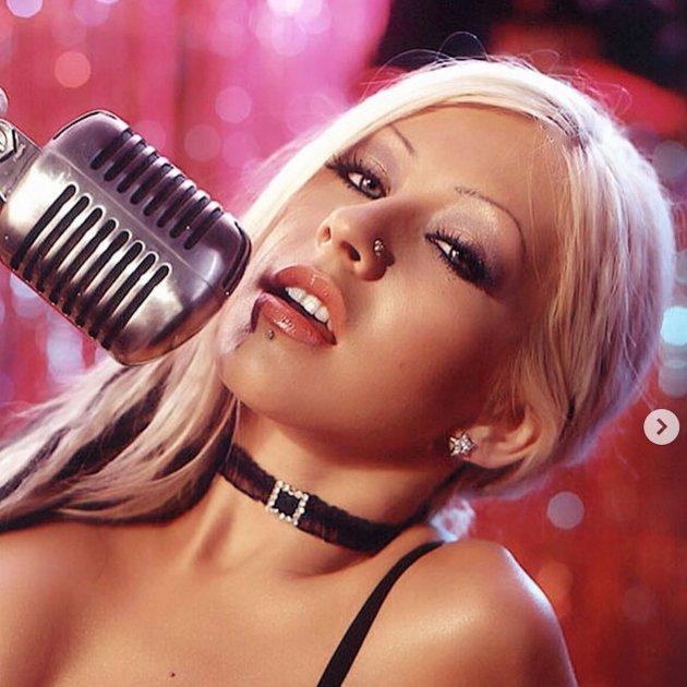 Christina Aguilera amb 21 anys @christinamariaaguilera