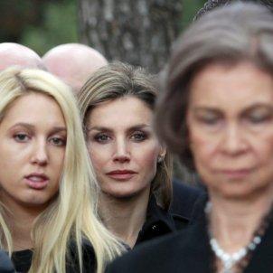 Letizia Funeral Mira Lejos Reina Sofia Gtres