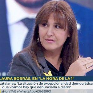 Laura Borràs entrevista a TVE