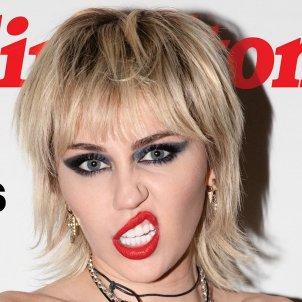 Miley Cyrus cara portada Rolling Stone