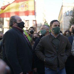 manifestació antifeixista Vox Santiago Abascal 5  Maria Contreras Coll