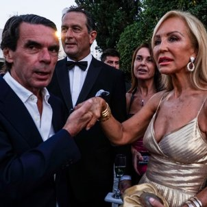 Carmen Lomana amb José María Aznar GTRES