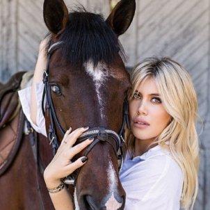 wanda nara i cavall