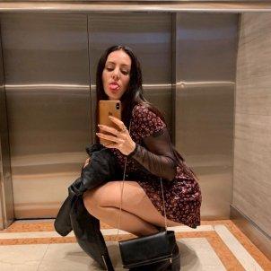 Mala Rodríguez en el ascensor @malarodriguez