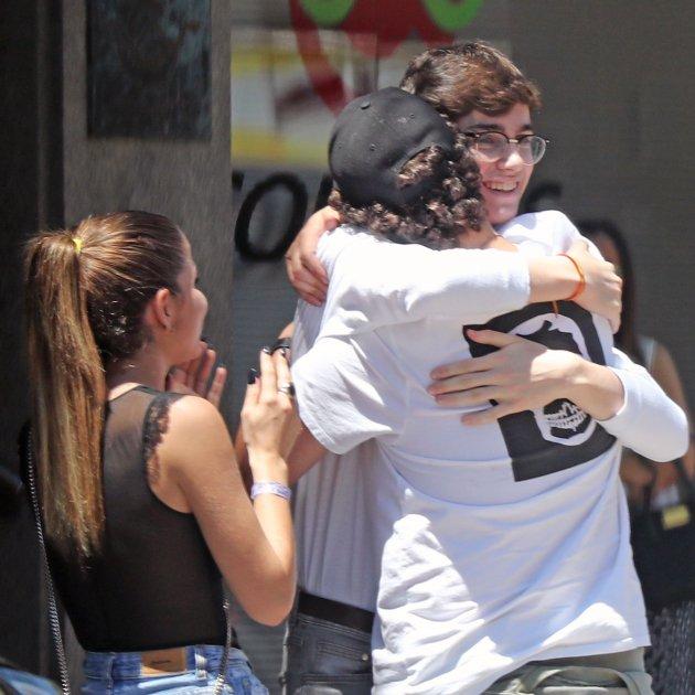 pablo urdangarin abraza a Froilán GTRES