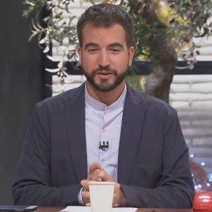 ustrell y un vaso TV3