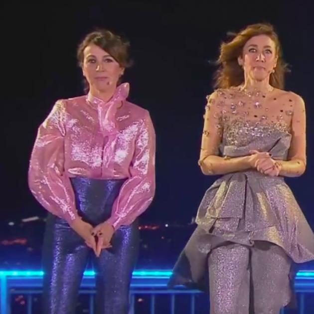 Presentadoras Campanadas, TV3