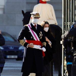 Felipe y Letizia Pascua Militar 2021 EFE
