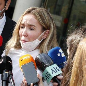 Angela Dobrowolski en el juzgado GTRES