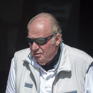 Juan Carlos con gafas de sol GTRES