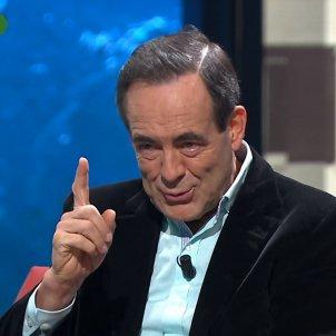José Bono gesto con el dedo La Sexta