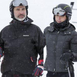Felipe i Letizia esquí GTRES