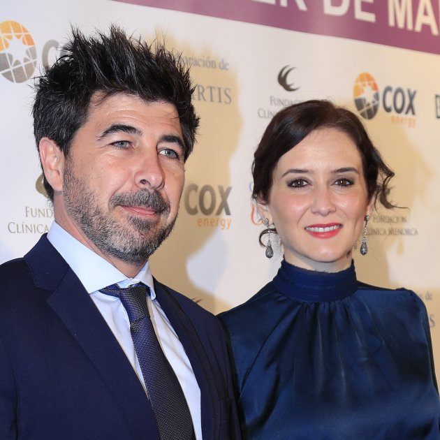 Isabel Díaz Ayuso y Jairo Alonso GTRES