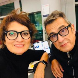 Sílvia Abril y Andreu Buenafuente, Instagram