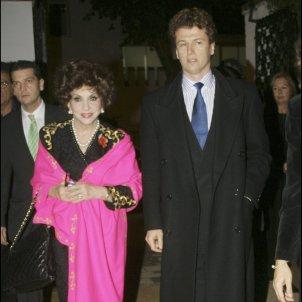Gina Lollobrigida Xavier Rigau GTRES