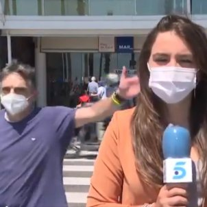 telecinco reportera barcelona