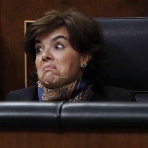 Soraya Sáenz de Santamaría gesto EFE