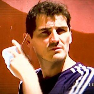 Iker Casillas enfadado Socialité Telecinco