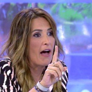 Laura Fa enfadadísima Sálvame Telecinco