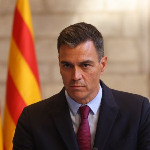 Pedro Sánchez Comparecencia reunión mesa de diálogo / Sergi Alcàzar