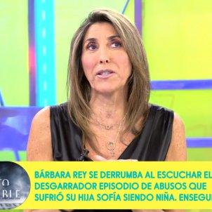 Paz Padilla cara Sálvame Telecinco