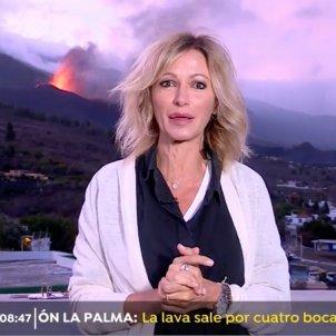 Susanna Griso volcán La Palma Antena 3