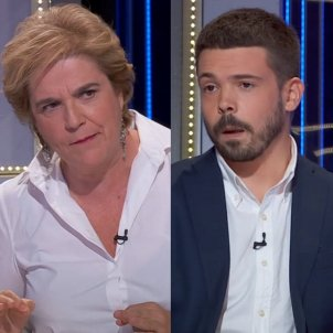 Pilar Rahola enfadada Nacho Corredor TV3