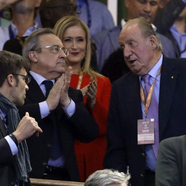 Florentino Pérez Reial Madrid llotja Santiago Bernabéu Rei Juan Carlos I Efe