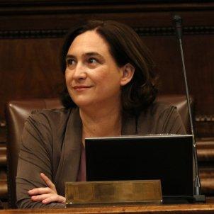 Colau al ple de l'Ajuntament de Barcelona / ACN
