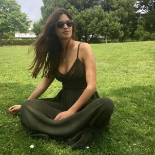 Sara Carbonero vestit verd  instagram