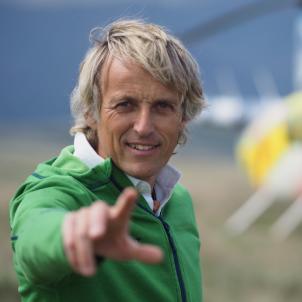 Jesús Calleja helicòpter  Cuatro