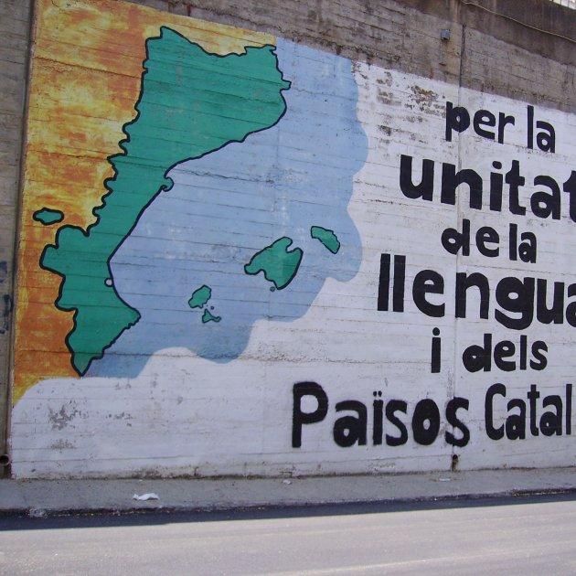 Mural Països Catalans - Wikimedia