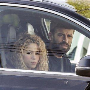 Shakira i Pique cotxe  GTRES