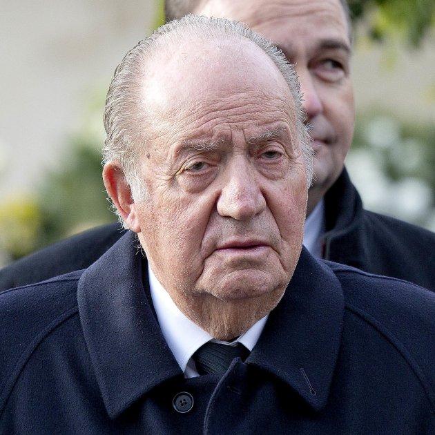 Joan Carles I trist  GTRES