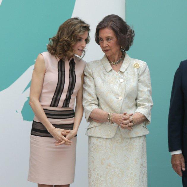 Reina Sofia i Letícia  GTRES