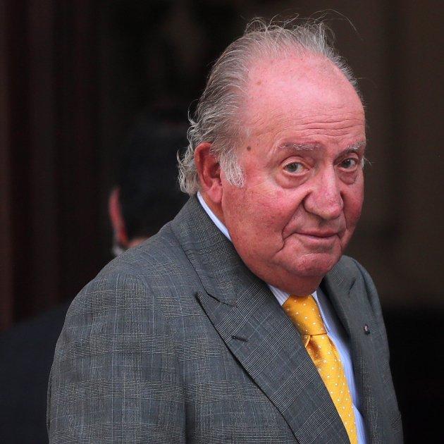 Rei Joan Carles I a Xile  EFE