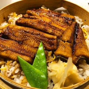 Anguila del delta del ebro con arroz