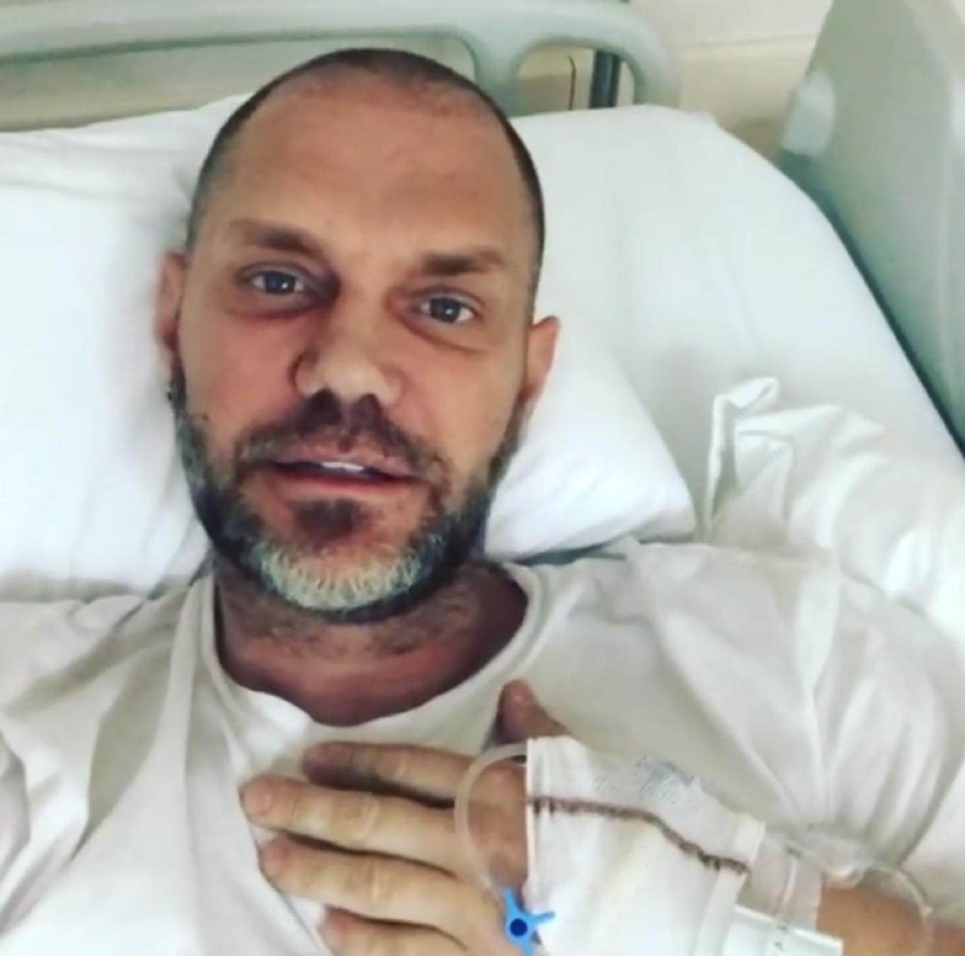 Actor Porno Famoso Español el actor porno nacho vidal, ingresado en un hospital