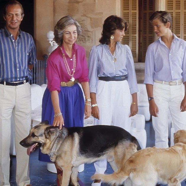 familia reial gossos GTRES