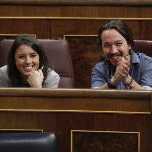 Pablo Iglesias i Irene Montero  GTRES
