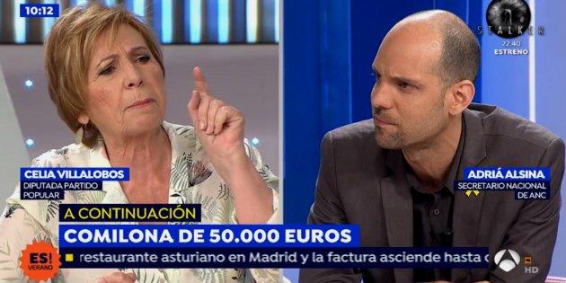 Villalobos altera a espejo p blico ahora despreciando a los independentistas - Antena 3 espejo publico ...