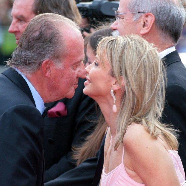 Corinna i Joan Carles petó GTRES