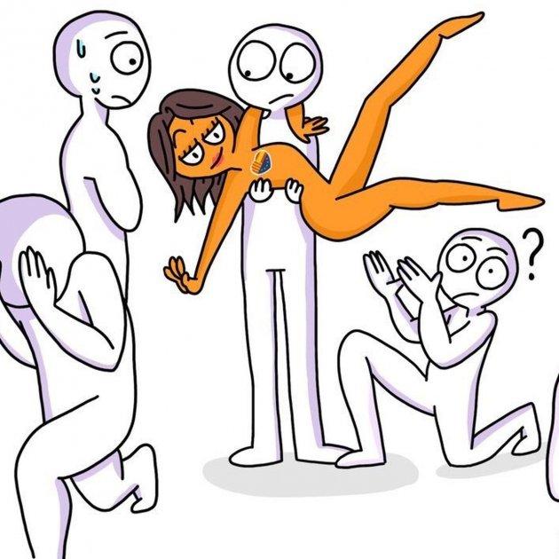 La Campaña Ignoraarrimadas La Dibuja Desnuda Humor O Machismo