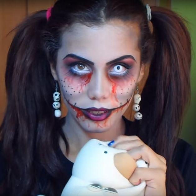 Disfraces De Halloween Caseros Y Faciles De Hacer - Disfraz-mujer-halloween-casero