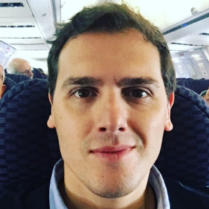 albert rivera avio