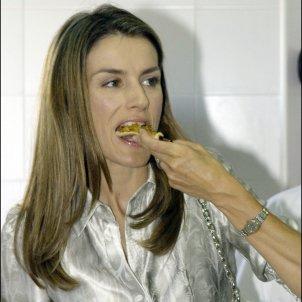 leticia menjant GTRES