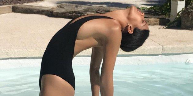 Cristina Pedroche Se Despide Del Perú Tomando El Sol Completamente