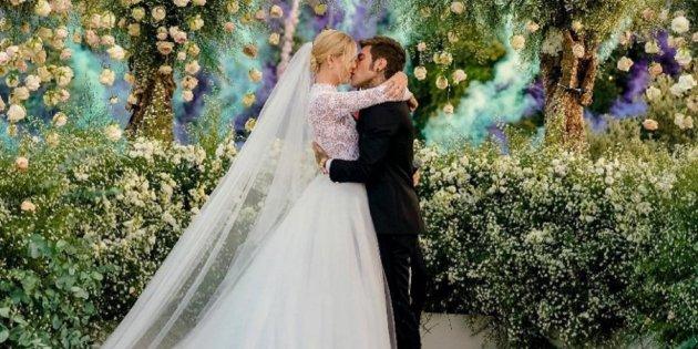 dbdbb30f4 La espectacular boda de cuento de Chiara Ferragni y Fedez paraliza medio  mundo